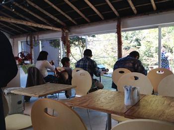 カフェ「おもいでの家」2